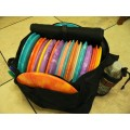 Large Lightning Disc Golf Bag