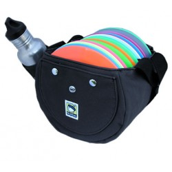 Black Double NutSaC Disc Golf bag