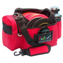 "Fade 'Blood Red"" Crunch Box Disc Golf bag"