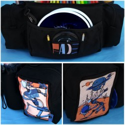 """Fade Tourney """"Outer Worlds"""" Large Disc Golf bag"""