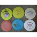 6 pack Disc Golf Starter set